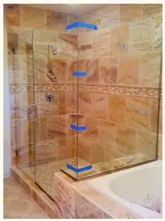 Shower Doors Frameless Tub Enclosures Heavy Plate